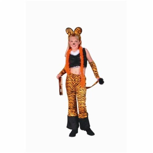 RG Costumes 91192-L Rock Star Tiger Costume - Size Child-Large Perspective: front