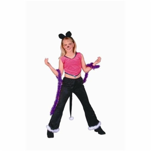 RG Costumes 91193-L Rock Star Cat Costume - Size Child-Large Perspective: front