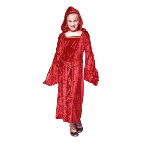 RG Costumes 91272-M Lady In Waiting Red Costume - Size Child-Medium Perspective: front