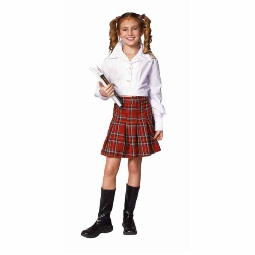 RG Costumes 91290-L School Girl Costume - Size Child-Large Perspective: front
