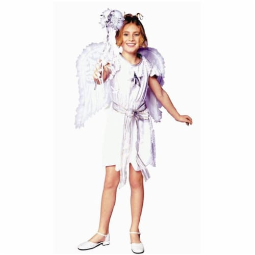 RG Costumes 91306-L Swan Angel Costume - Dress Only - Size  Child-Large Perspective: front