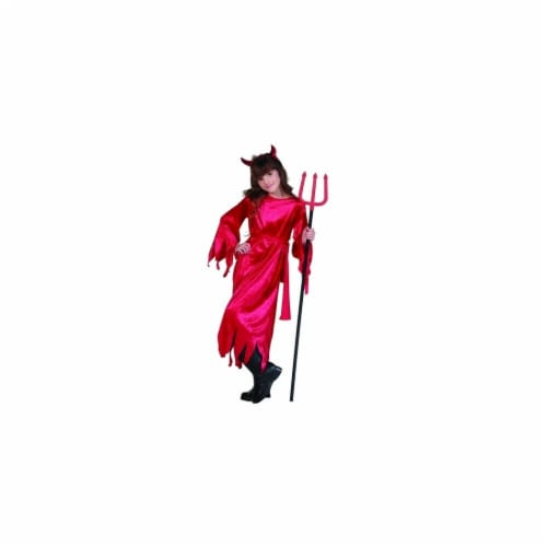 RG Costumes 91316-L Devil Girl Costume - Size Child Large 12-14 Perspective: front