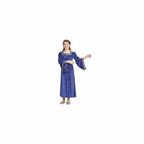 RG Costumes 91388-L Renaissance Bell Child Large - Blue Perspective: front