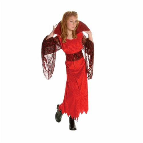 RG Costumes 91485-L Vampiress Costume - Size Child-Large Perspective: front