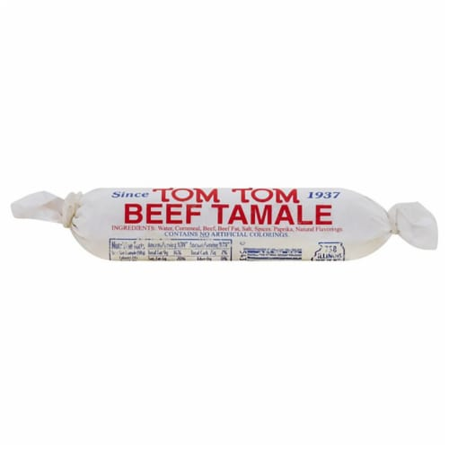 Tom Tom Beef Tamale Perspective: front