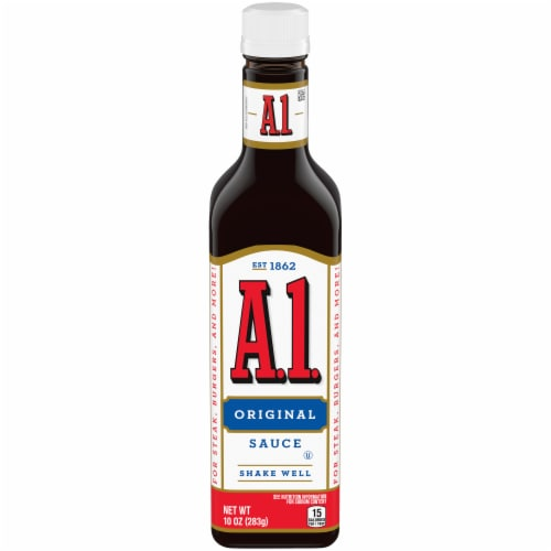 A.1. Original Steak Sauce Perspective: front