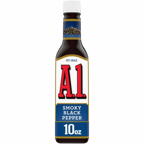 A.1. Smoky Black Pepper Sauce Perspective: front