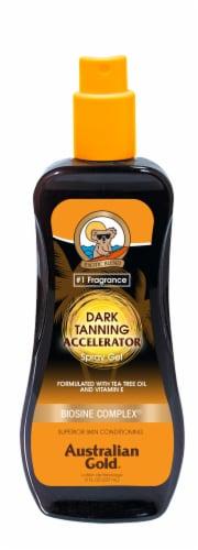 Australian Gold Dark Tanning Accelerator Spray Gel Perspective: front