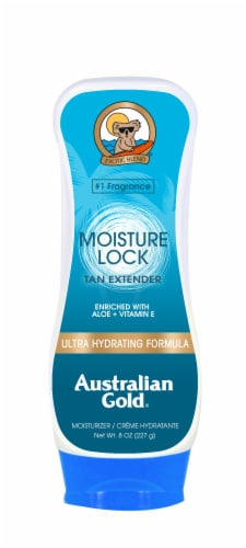 Australian Gold Moisture Lock Tan Extender Lotion Perspective: front