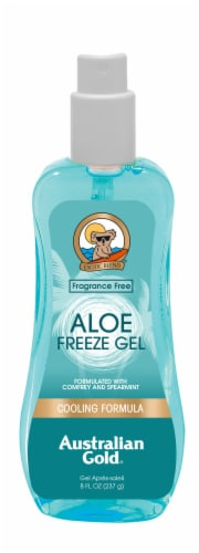 Australian Gold Cooling Formula Aloe Freeze Spray Perspective: front