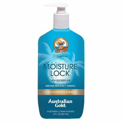 Australian Gold Moisture Lock Tan Extender Moisturizer Perspective: front