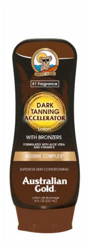 Australian Gold Dark Tanning Accelerator Lotion Perspective: front