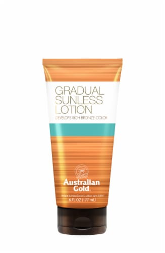 Australian Gold Gradual Sunless Suntan Lotion Perspective: front