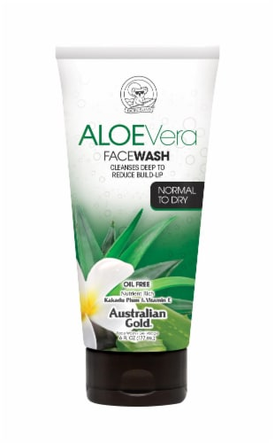 Australian Gold Normal to Dry Face Wash Perspective: front