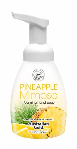 Australian Gold Foam Hand Soap Pineapple Perspective: front