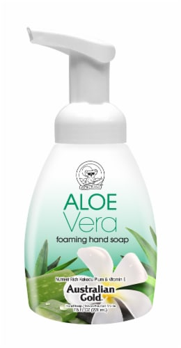 Australian Gold Aloe Vera Foaming Hand Soap Perspective: front