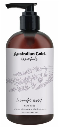 Australian Gold Essentials Lavender Mint Hand Soap Perspective: front