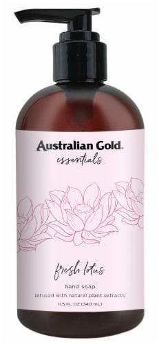 Australian Gold Essentials Hand Soap Fresh Lotus Perspective: front