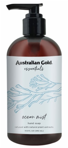 Australian Gold Essentials Ocean Mist Hand Soap Perspective: front