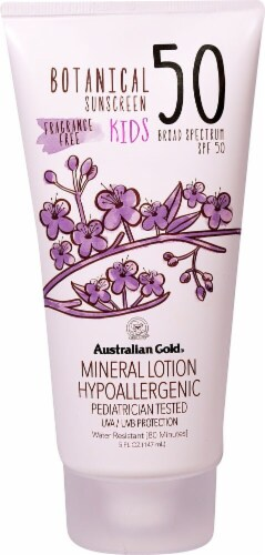 Australian Gold Botanical Kids Mineral Lotion SPF 50 Perspective: front