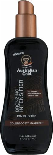 Australian Gold Bronzing Intensifier Dry Oil Spray Perspective: front