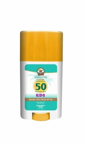 Australian Gold Kids Sunscreen Stick SPF 50 Perspective: front