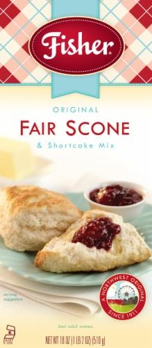 Fisher Original Fair Scone & Shortcake Mix Perspective: front