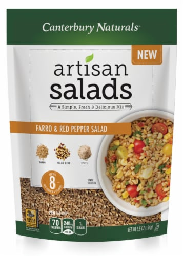 Canterbury Naturals Farro Red Pepper Artisan Salad Perspective: front