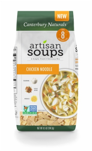 Canterbury Naturals Chicken Noodle Artisan Dry Soup Mix Perspective: front