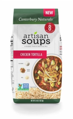 Canterbury Naturals Chicken Tortilla Artisan Dry Soup Mix Perspective: front
