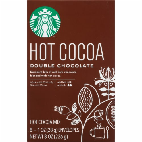 Starbucks Double Chocolate Hot Cocoa Mix Perspective: front