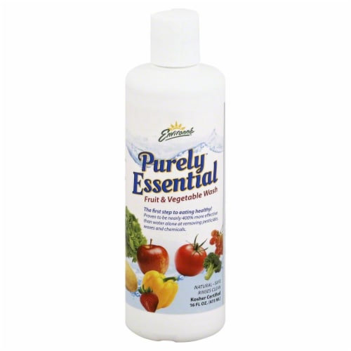 Environne Purley Essential Fruit and Vegetable Wash Perspective: front