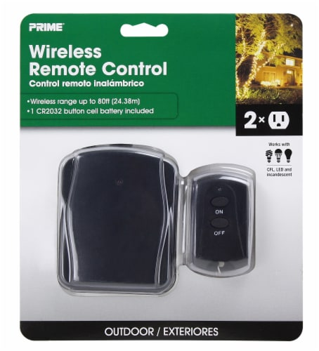 Prime Wireless Remote Control Perspective: front