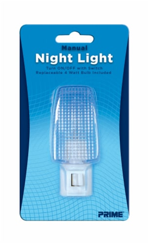 Prime Manual Night Light Perspective: front