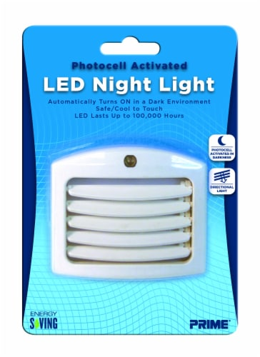 Prime Pathway LED Night Light - White Perspective: front