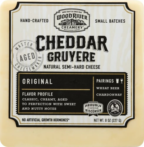 Burnett Dairy Alpha Morning Sun Cheddar Cheese Perspective: front