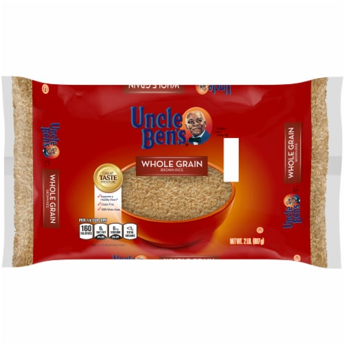 Uncle Ben's Whole Grain Brown Rice Perspective: front
