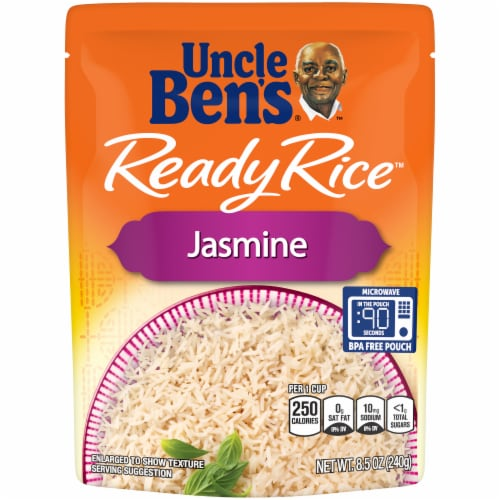 Uncle Ben's Ready Rice Jasmine Rice Perspective: front