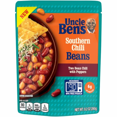 Uncle Ben's Southern Chili Beans Perspective: front