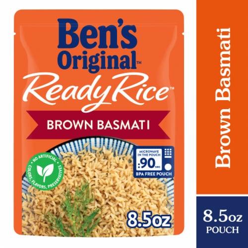 Ben's Original Ready Rice Brown Basmati Rice Perspective: front