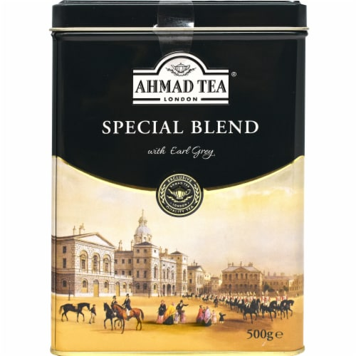 Ahmad Tea Special Blend with Earl Grey Loose Tea Perspective: front