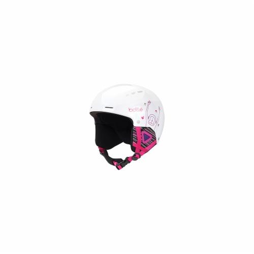 Bolle 513602 Quiz Kids Helmet, White - 49 - 52 cm Perspective: front