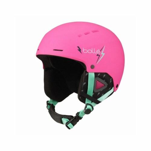 Bolle 513612 49-52 cm Quiz Kids Helmet, Pink Perspective: front