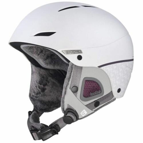 Bolle 513620 52-54 cm Women Juliet Ski Helmet, White Perspective: front