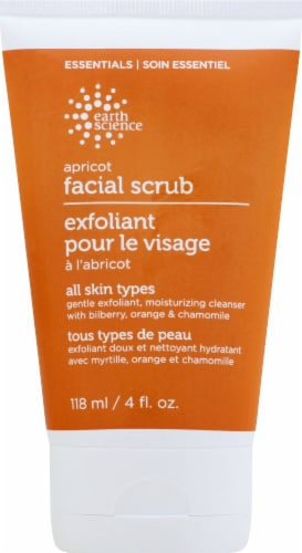 Earth Science Apricot Gentle Facial Scrub Perspective: front