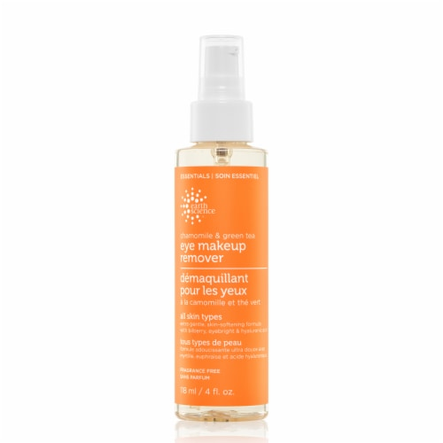 Earth Science Chamomile & Green Tea Eye Makeup Remover Perspective: front