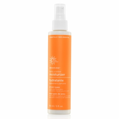 Earth Science Almond-Aloe Lightly Scented Moisturizer Perspective: front