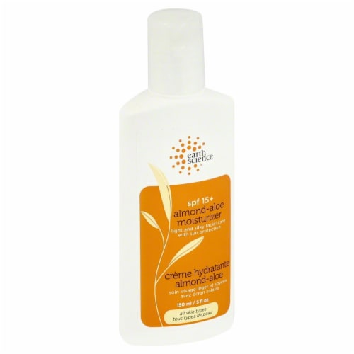 Earth Science Almond-Aloe Moisturizer Perspective: front