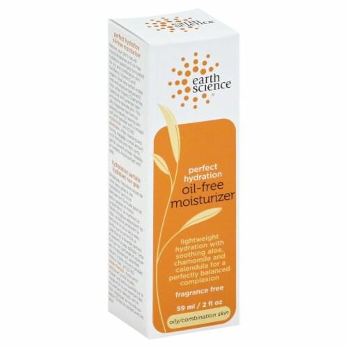 Earth Science Oil-Free Moisturizer Perspective: front