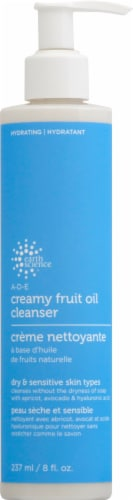 Earth Science A-D-E Creamy Fruit Oil Cleanser Perspective: front